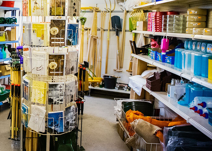 Futtermittel & Landhandel Ackermann Zwenkau Ladenfläche